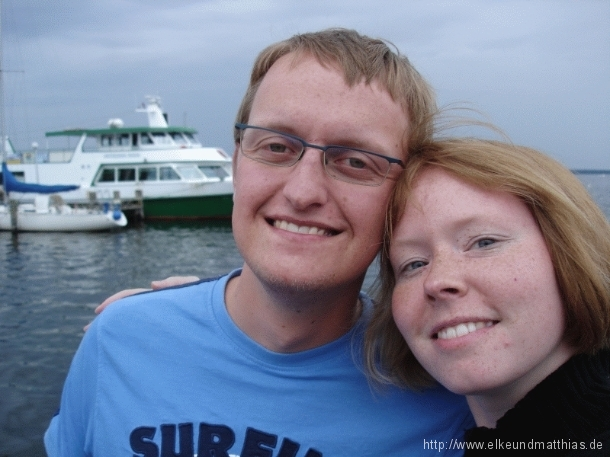 Matthias und Elke in Rerik