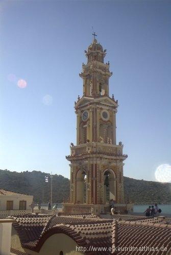 Kirchturm auf Rhodos